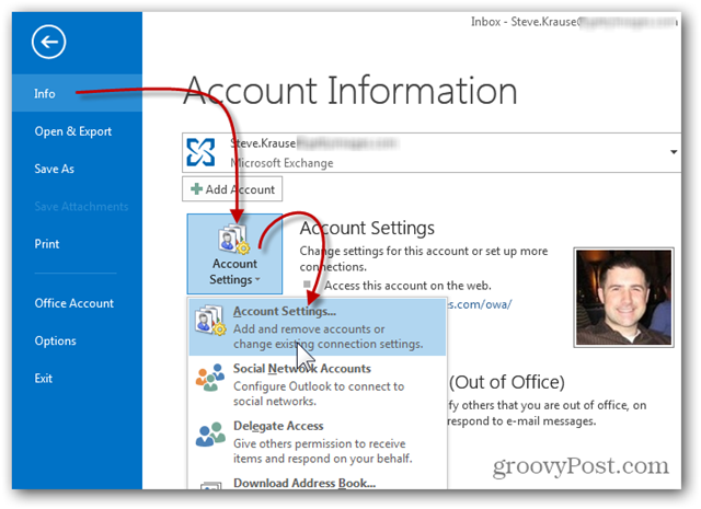 Add additional Mailbox in Outlook 2013