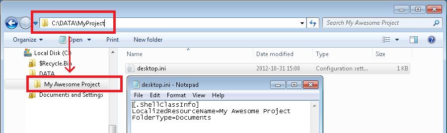 Write Folder Metadata via Powershell