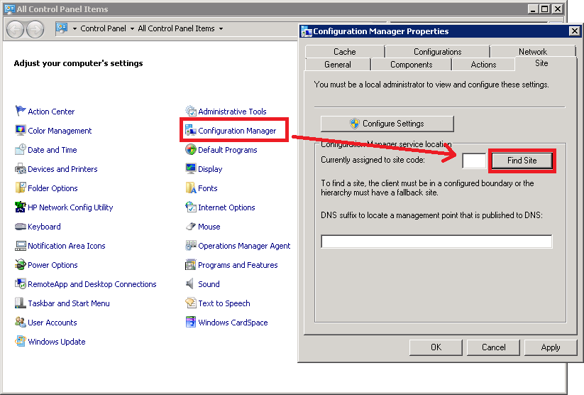 SCCM Client – Manual install and uninstall – Jocha