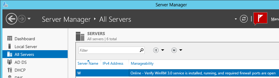 Manage Windows Server 2008 from Server 2012