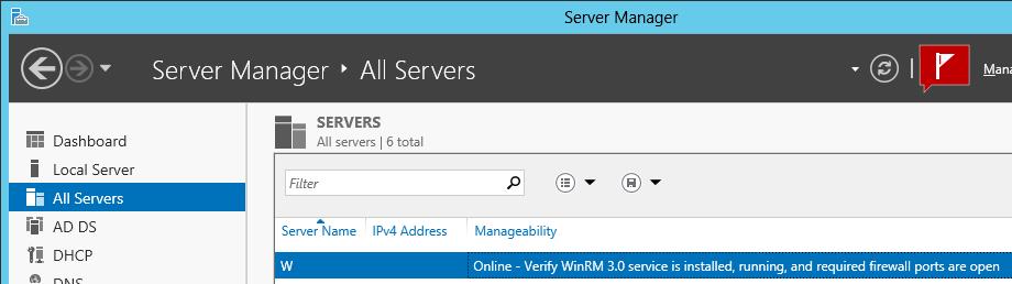 Manage Windows Server 2008 from Server 2012