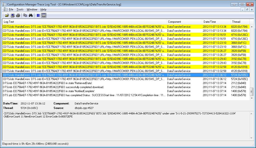 Hash mismatch with SCCM Application