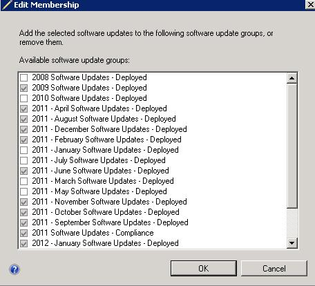 Software Update Content Cleanup in SCCM 2012