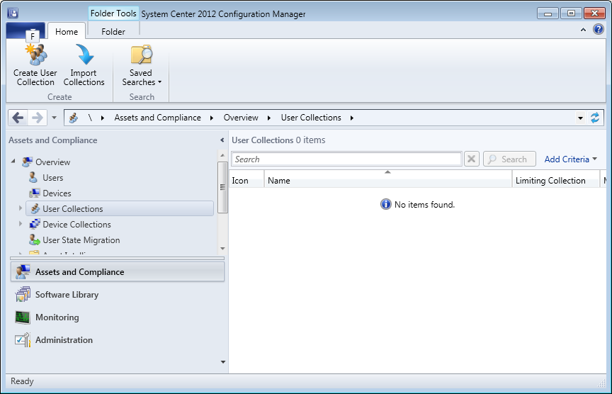 SCCM 2012: Create Collections and AD Groups