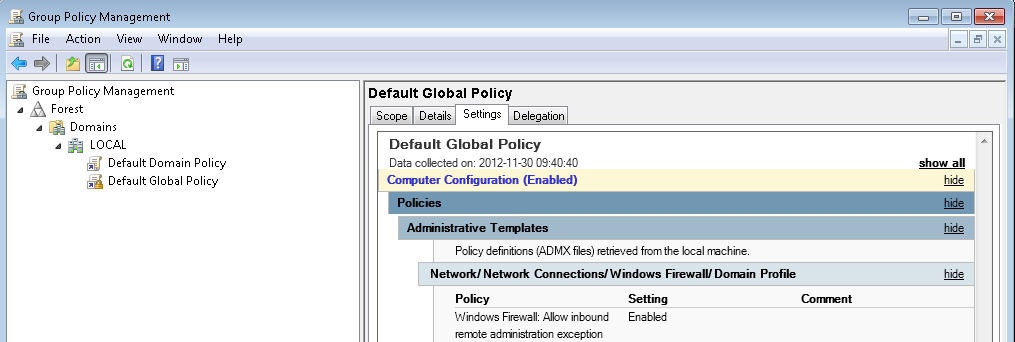Modifying permissions via Group Policy