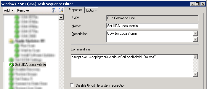 Make Primary User Local Admin via Task Sequence