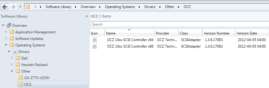 SCCM 2012, RevoDrive and 0x800700A1