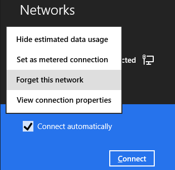 Display all saved WiFi Passwords