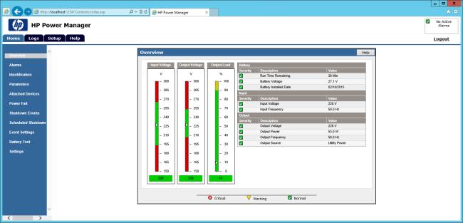 HP Power Manager Menu Fix