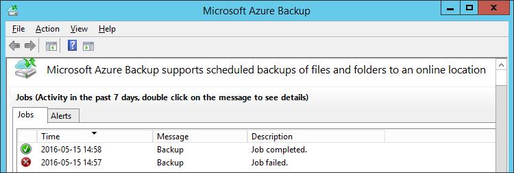 Azure Backup Job Failed 0x1D4C2 – Jocha
